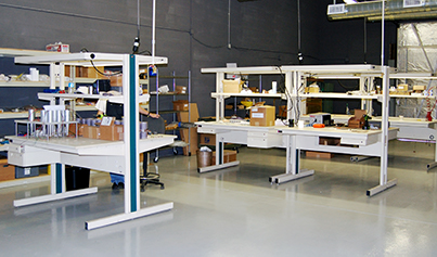 Our New 2,500-square-foot Assembly Room with Motor Building Cells